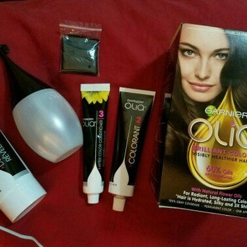 Garnier Olia Garnier Medium Brown Hair Coloring Hair Color Kit uploaded by Leticia R.