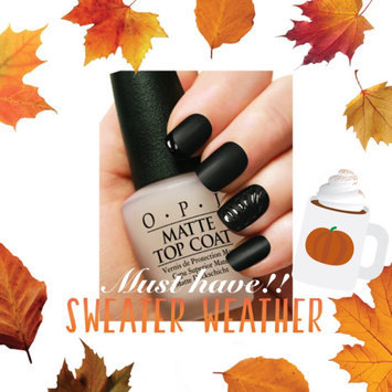 Photo of Nicole Miller Nicole by OPI Matte Top Coat uploaded by Callie L.
