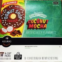 keurig Coffee People K-Cups Donut Shop Coconut Mocha Coffee uploaded by Andrea C.