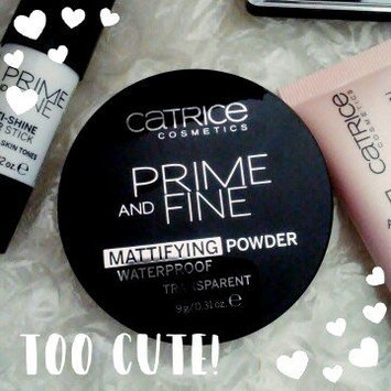 Photo of Catrice Prime & Fine Waterproof Mattifying Powder uploaded by Jennifer W.