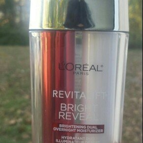 L'Oréal Paris Revitalift Bright Reveal Brightening Dual Overnight Moisturizer uploaded by Quincey H.