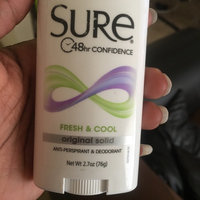 Sure Original Solid Anti-Perspirant & Deodorant Fresh Scent uploaded by tarvia f.