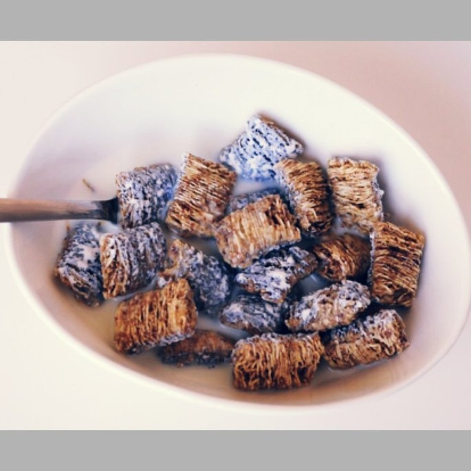 Kellogg's Frosted Mini-Wheats Blueberry Cereal uploaded by Soua L.
