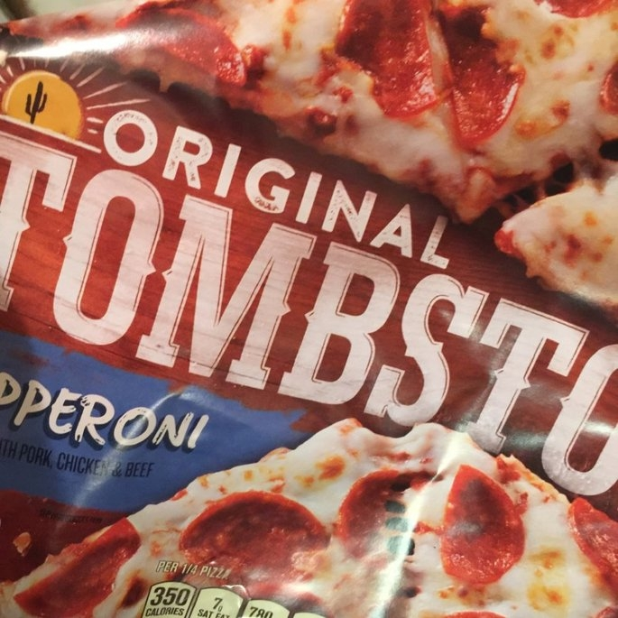 TOMBSTONE Original Pepperoni Pizza uploaded by Wendy C.