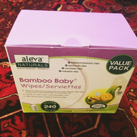 Aleva Naturals Bamboo Baby Wipes uploaded by Frish Q.