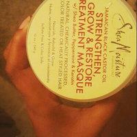 SheaMoisture Strengthen, Grow & Restore Treatment Masque, Jamaican Black Castor Oil, 12 oz uploaded by Shykia J.