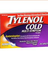 Tylenol Multi-Symptom Caplets for Adults uploaded by Roxy j.