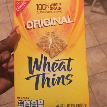Photo of Nabisco Wheat Thins Original Crackers uploaded by DAPHNEY M.