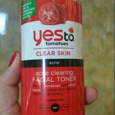 Yes to Tomatoes Clear Skin Acne Clearing Facial Toner, 7.7 oz uploaded by Maria C.