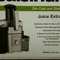 Cuisinart CJE-1000 1000-watt 5-speed Juice Extractor uploaded by Stephanie M.