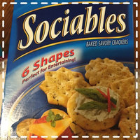 Sociables Baked Savory Crackers 6 Shapes uploaded by Stacy S.