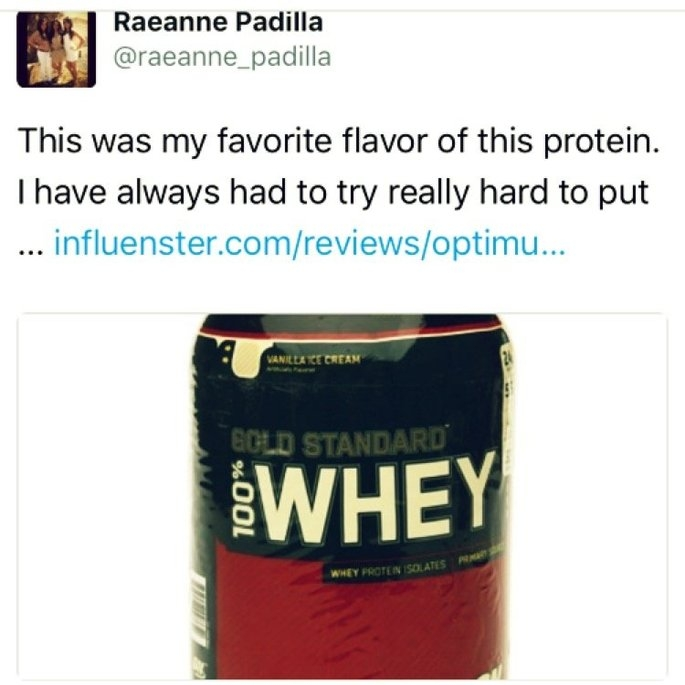 Optimum Nutrition Gold Standard Natural 100% Whey Protein uploaded by Raeanne M.
