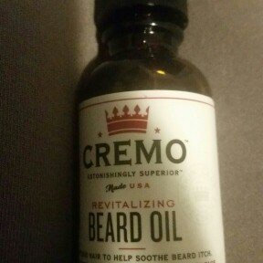 Photo of Cremo Unscented Revitalizing Beard Oil - 1 oz uploaded by johanna f.