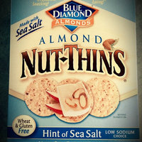 Blue Diamond Natural Almond Nut-Thins Hint Of Sea Salt Cracker Snacks uploaded by Michele S.