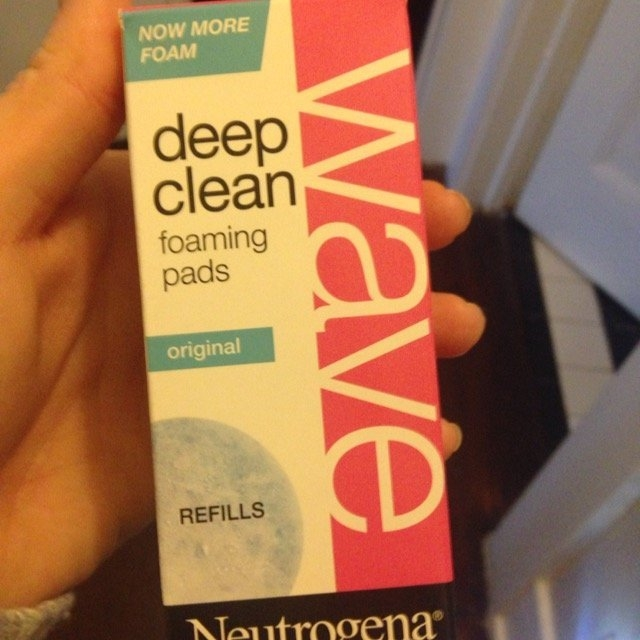 Neutrogena Wave Deep Clean Original Foaming Pads Refills uploaded by Ashley M.