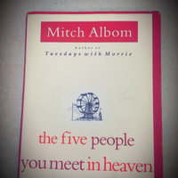 Hyperion Books The Five People You Meet in Heaven uploaded by Raquel S.