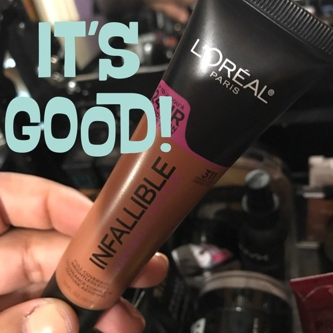 L'Oreal Paris Infallible Total Cover Foundation 311 Creme Cafe 1.0 fl. oz. Tube uploaded by Leigh G.