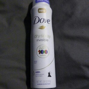 Dove® Invisible Antiperspirant Dry Spray Sheer Fresh uploaded by Amanda W.