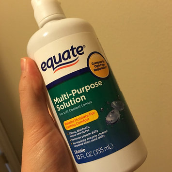 Photo of Equate - Multi-Purpose Contact Lenses Solution uploaded by Elizabeth  M.