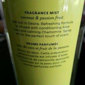 Victoria's Secret DESIRE Coconut & Passion Fragrance Mist 8.4 oz uploaded by Aly L.