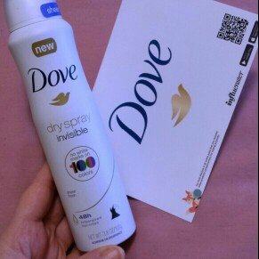 Dove® Invisible Antiperspirant Dry Spray Sheer Fresh uploaded by Marlynda M.
