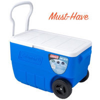 Coleman 56-Quart Wheeled Cooler, Blue uploaded by Bri M.