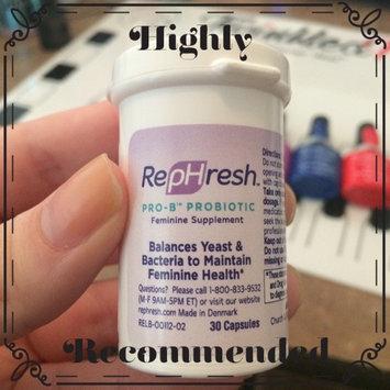Photo of RepHresh Pro-B Probiotic Feminine Supplement - 30 CT uploaded by Melissa B.