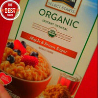 Quaker® Select Starts Oatmeal Maple & Brown Sugar Organic Instant Oatmeal uploaded by Bryn H.