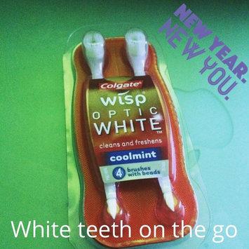Photo of Colgate® WISP™ OPTIC WHITE™ Mini-Brush Coolmint uploaded by Isabel M.