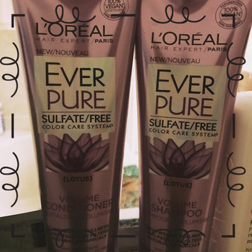 Photo of L'Oréal Paris EverPure Volume Shampoo uploaded by Theresa D.