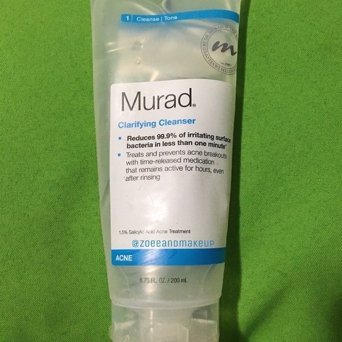 Murad Clarifying Cleanser uploaded by Zoe D.