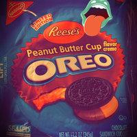 Nabisco Oreo Reese's Sandwich Cookies Peanut Butter uploaded by Kelsie A.