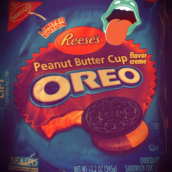 Oreo Reese's Peanut Butter Cup Sandwich Cookies uploaded by Kelsie A.