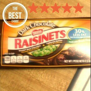 Photo of Nestlé Dark Chocolate Raisinets California Raisins uploaded by Latoya Connectionpreneur J.