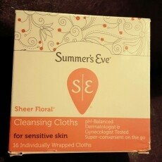 Summer's Eve Cleansing Cloths for Sensitive Skin uploaded by Yessenia M.