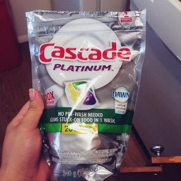 Cascade® Platinum™ ActionPacs™ Dishwasher Detergent Lemon Burst 16 Ct  uploaded by Mariling C.