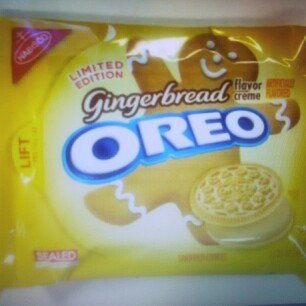 Nabisco Gingerbread Flavor Creme Oreos - Limited Edition - 1 Pack uploaded by Christian L.