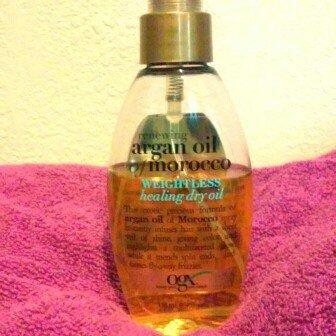 OGX Organix Moroccan Argan Oil Weightless Healing Oil 4 oz. uploaded by Zarahy M.
