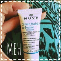 NUXE Masque Cr??me Fraiche de Beaut?? Soothing & Rehydrating Mask uploaded by Jessica W.