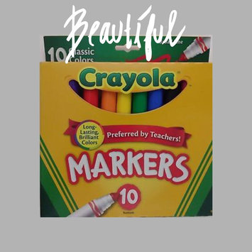 Photo of Crayola 10ct Broad Markers - Assorted Colors uploaded by RosaMaria P.