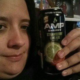 Photo of AMP® Energy Strawberry Limeade Energy Drink 16 fl. oz. Can uploaded by amy H.
