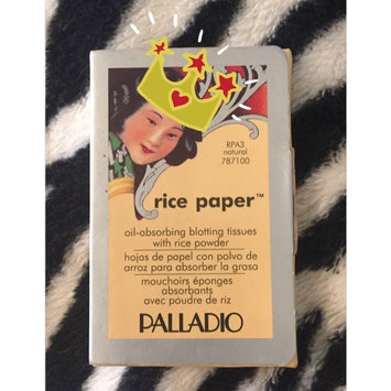 Palladio Rice Paper Powdered Blotting Tissues uploaded by Sandra B.
