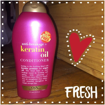 OGX® Keratin Oil Conditioner uploaded by Jeralyn T.