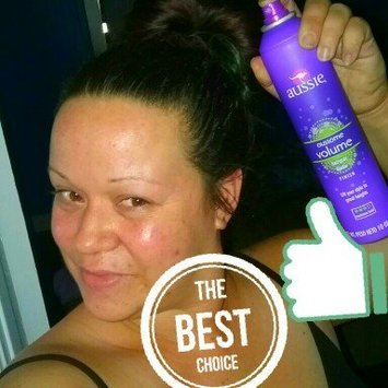 Aussie Aussome Volume Non-Aerosol Hairspray uploaded by Chantelle W.
