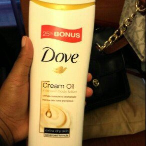Photo of Dove Cream Oil Shea Butter Body Lotion uploaded by DeAngela H.