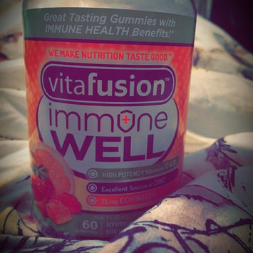 Vitafusion Immune Well Natural Fruit 60 Gummies uploaded by Kelsey J.