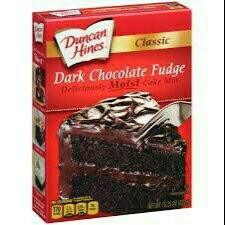 Duncan Hines® Classic Dark Chocolate Fudge Cake Mix 15.25 oz. Box uploaded by Rendi D.