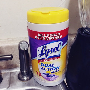 Photo of Lysol Dual Action Disinfecting Wipes uploaded by Jaimi T.