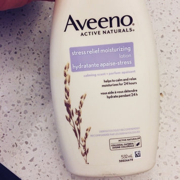Photo of Aveeno Stress Relief Moisturizing Lotion uploaded by member-f6db3b6e2