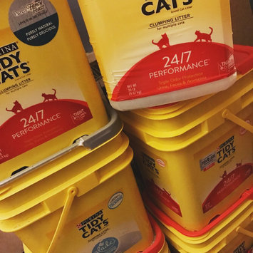 Photo of Tidy Cats Scoop 24/7 Performance Cat Litter uploaded by Savannah H.